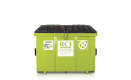 Front-loading containers (recycling)